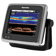 RAYMARINE A68 6 inch MFD with DownVision Fishfinder,WiFi,NO Map, Transducer
