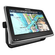 RAYMARINE A125 MFD w and C%2DMap US Charts