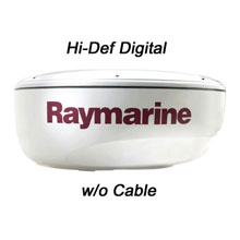 RAYMARINE 4KW 18 inch HD Digital Radome w/o Cable