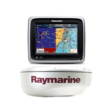 RAYMARINE A67 Value Pack with Fishfinder and Radar without charts