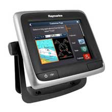 RAYMARINE A68 5.7 inch Multifunction Sonar CHIRP Display with Wi-Fi, CPT-100 Transducer and USA C-Map
