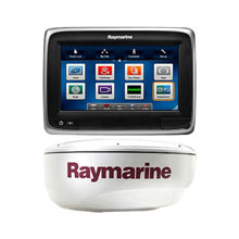 RAYMARINE A78 Value Pack with Fishfinder and Radar