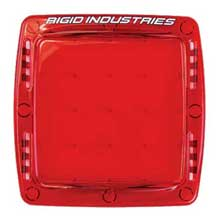 RI RIGID IND Q-series light cover, red