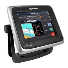 RAYMARINE A65 MFD with US Charts