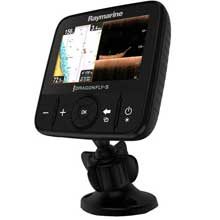 RAYMARINE Dragonfly 5 Pro w and o Charts