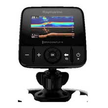 RAYMARINE Dragonfly 4 Pro w and o Charts