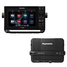 RAYMARINE ES98 9 inch Combo Wi%2DFi w and CHIRP and Downvison Navionics plus Chart CP470 CHIRP sounder