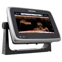 RAYMARINE A78 Wi-Fi 7 MFD w/CHIRP Downvison, ClearPulse, CPT-100 US Lakes, Coastal Chart by C-MAP