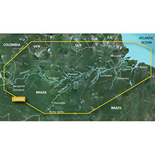 GARMIN South America - Amazon River (HXSA009R), BlueChart g2 HD map on SD card