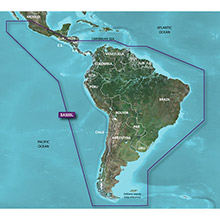 GARMIN South America (HXSA500L), BlueChart g2 HD map on SD card