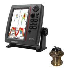 SI%2DTEX SVS%2D760 Dual Frequency Sounder 600W Kit w and Bronze 20 Degree Transducer