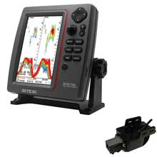 SI%2DTEX SVS%2D760 Dual Frequency Sounder 600W Kit w and Transom Mount Triducer