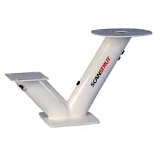 SCANSTRUT Dual PowerTower for 60cm Satcom, Navico BR24, Raymarine, Garmin, 2kW, 4kW domes