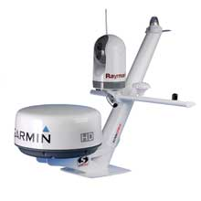 SCANSTRUT Tapered radar mast for radomes, lights, cameras, GPS/VHF antennas
