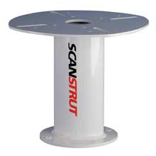 SCANSTRUT 12 inch aluminum PowerTower for 30cm, 40cm satcom antenna