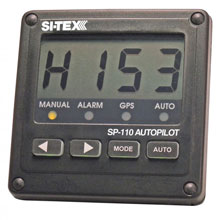 SI-TEX SP-110 System w/Rudder Feedback and Type T Mechanical Dash Drive
