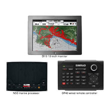 SIMRAD NSO System w and 15inch Monitor and Keypad
