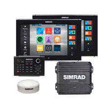 SIMRAD NSO evo2 Dual 16inch Package w GPS OP40