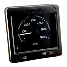 SIMRAD IS70 RPM Indicator, 6,000 RPM Scale