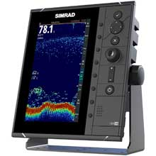 SIMRAD S2009 9 inch Fishfinder w/Broadband Sounder module and CHIRP technology