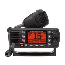 STANDARD HORIZON GX1300B Eclipse Ultra Compact Fixed Mount VHF %2D Black