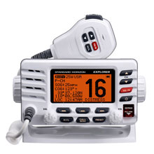 STANDARD HORIZON VHF Explorer Optional Remote White