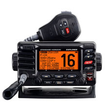 STANDARD HORIZON GX1700B GPS Fixed Mount VHF %2D Black