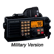 STANDARD HORIZON VHF Quantum Military w and Kpd Hailer