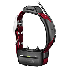 GARMIN TT 15 Burgundy GPS Dog Tracking and Training Collar