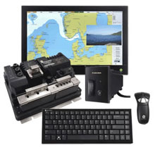 FURUNO NavNet TZtouch Black Box Package w Hatteland Series X 24 Wide Display Gyration Air Mouse GO Plus w Keyboard