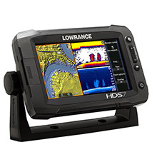 LOWRANCE HDS 7 Gen2 Touch Insight USA Multifunction transducer solid separetely