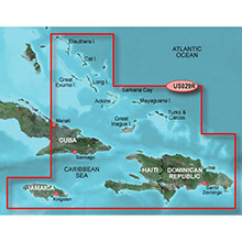 GARMIN Southern Bahamas HXUS029R BlueChart g2 HD map on SD card