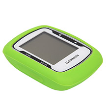 WALLEVA Cannondale Green Silicone case for edge 500