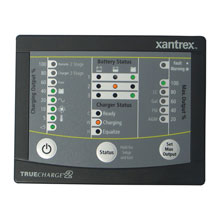 XANTREX TRUECHARGE 2 Remote Panel f/20,40,60 AMP Only for 2nd generation of TC2 chargers