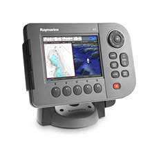 RAYMARINE A50D Chartplotter and Fishfinder US Coastal Charts