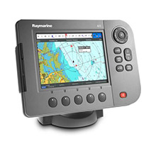 RAYMARINE A70D Chartplotter and Fishfinder with Transducer, no Charts