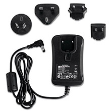 GARMIN AC adapter cable with International plug adapters