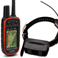 GARMIN Alpha 100 and Black TT 10 Dog Tracking and Training Bundle, 90 day wty
