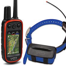 GARMIN Alpha 100 and Blue TT 10 Dog Tracking and Training Bundle, 90 day wty