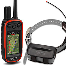 GARMIN Alpha 100 and grey TT 10 Dog Tracking and Training Bundle, 90 day wty