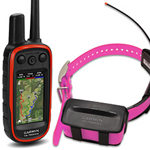 GARMIN Alpha 100 and Pink TT 10 Dog Tracking and Training Bundle 90 day wty