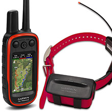 GARMIN Alpha 100 and Red TT 10 Dog Tracking and Training Bundle, 90 day wty