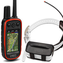 GARMIN Alpha 100 and White TT 10 Dog Tracking and Training Bundle, 90 day wty