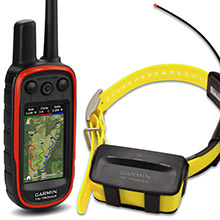GARMIN Alpha 100 and Yellow TT 10 Dog Tracking and Training Bundle, 90 day wty