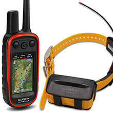 GARMIN Alpha 100 and Yellow School Bus TT 10 Dog Tracking and Training Bundle 90 day wty
