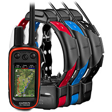 GARMIN Alpha 100 and 3 x TT 15 Dog Tracking and Training Bundle TT15
