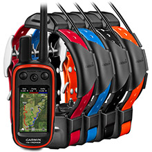 GARMIN Alpha 100 and 4 x TT 15 Dog Tracking and Training Bundle TT15