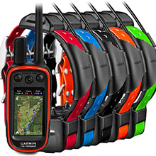 GARMIN Alpha 100 and 5 x TT 15 Dog Tracking and Training Bundle TT15