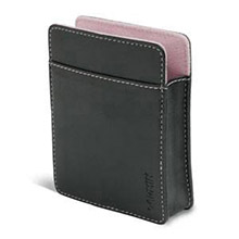 GARMIN Black carrying case with pink trim