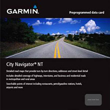 GARMIN City Navigator Europe NT Nordics, SD Card